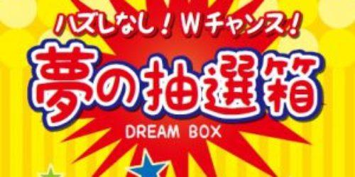 夢の抽選箱実施中!!【つくば市・ひたち野うしく・美容室・エステ・脱毛】